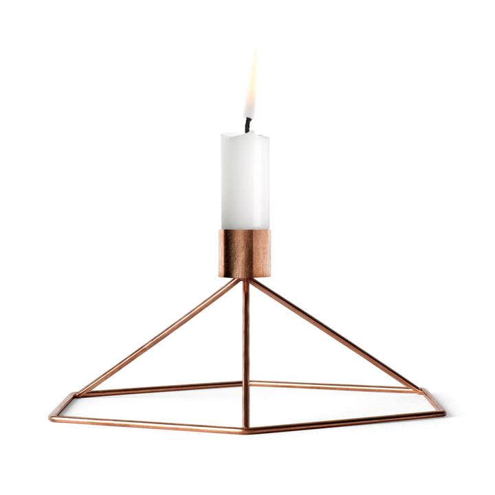 Menu - POV Table candle holder, copper