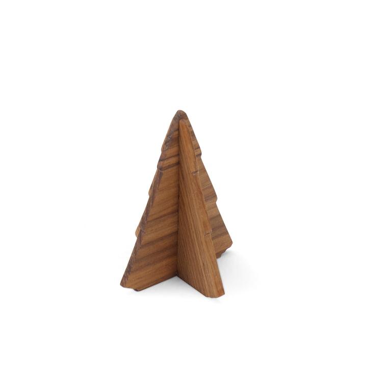 Skagerak - Spruce Tree, 9 cm, teak