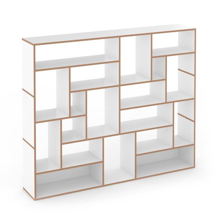 Hanibal shelving system by Tojo in med
