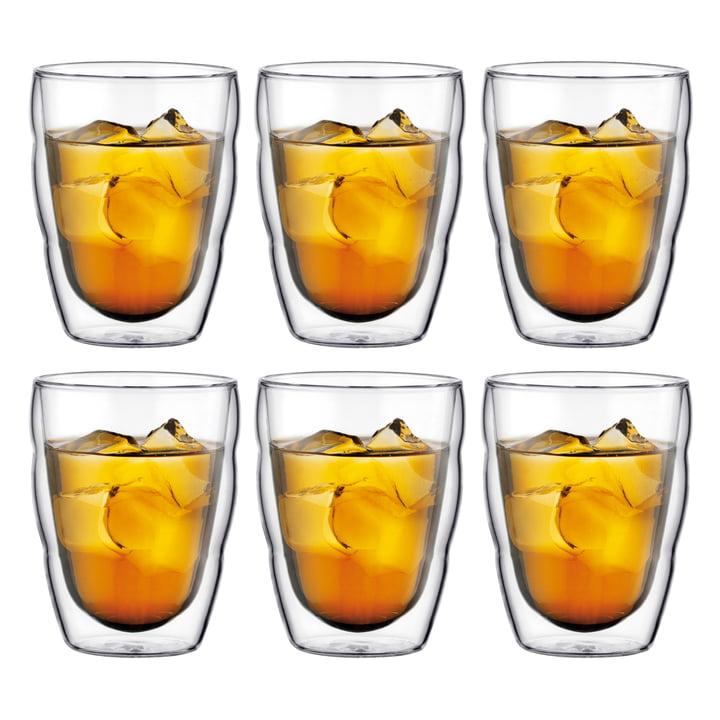 Bodum - Pilatus Drinking Glass, 0.25l (set of 6)