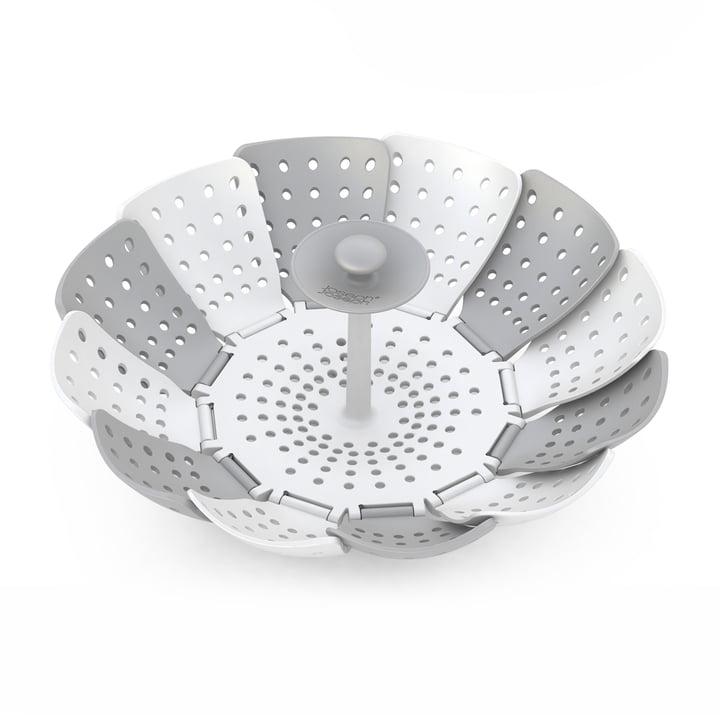 Joseph Joseph - Lotus Plus Steamer Basket, grey / white
