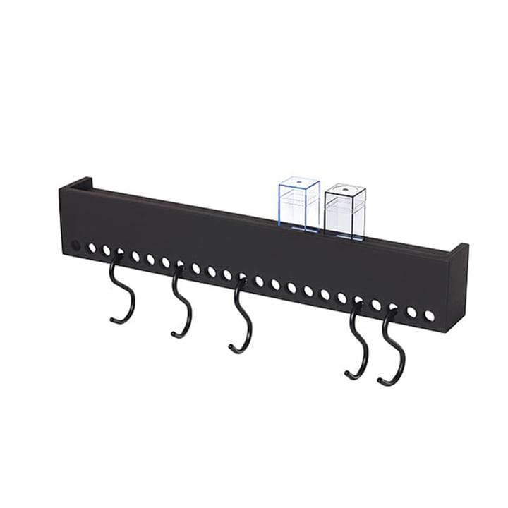 Nomess - So-Hooked Coat Rack, 60 cm, black