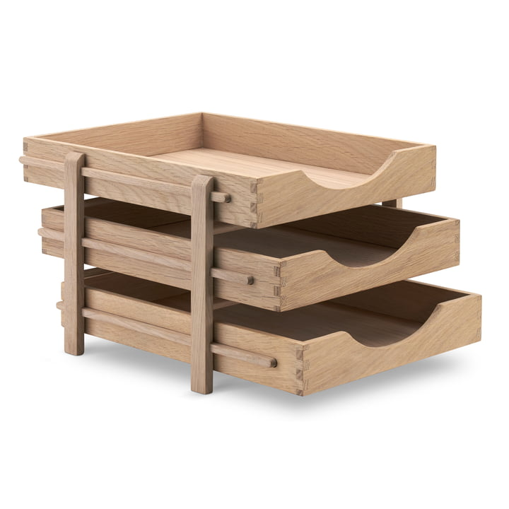 The Dania Letter Tray from Skagerak from oak