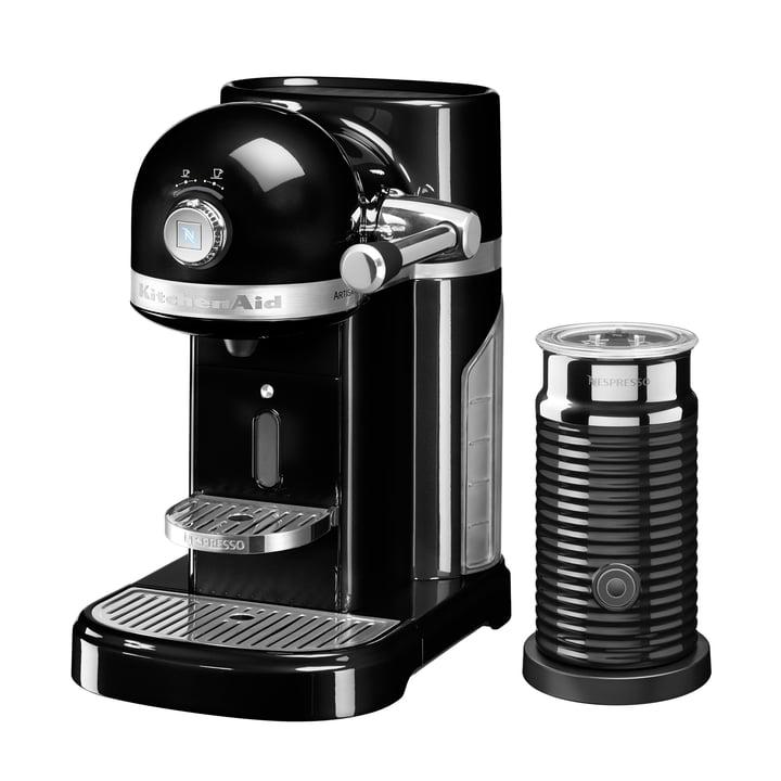 KitchenAid - Artisan Nespresso incl. Aeroccino 3, black