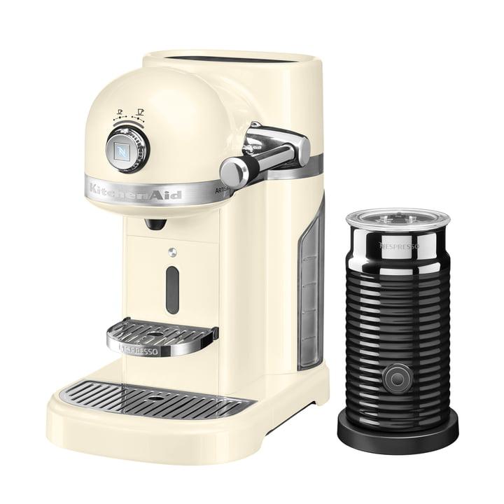 KitchenAid - Artisan Nespresso incl. Aeroccino 3, cream
