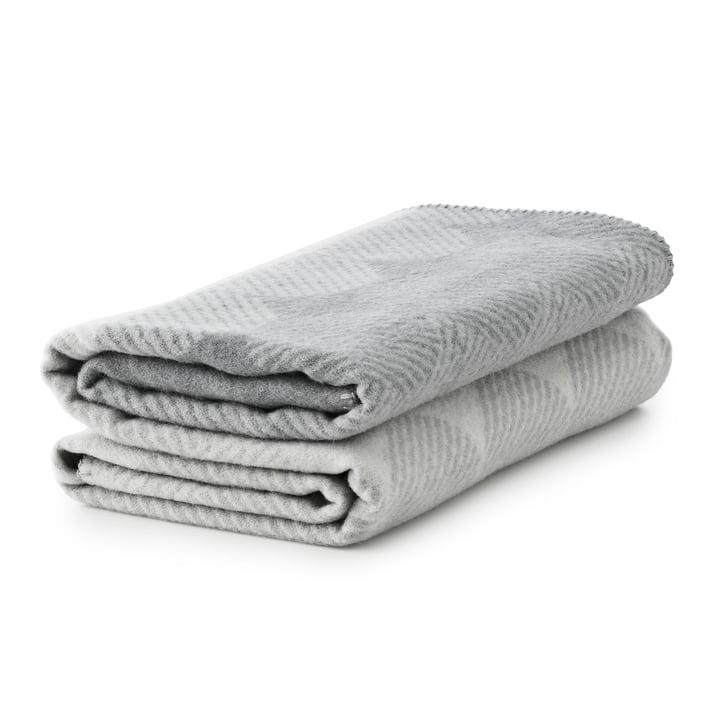 Normann Copenhagen - Ekko blanket smoke/ grey