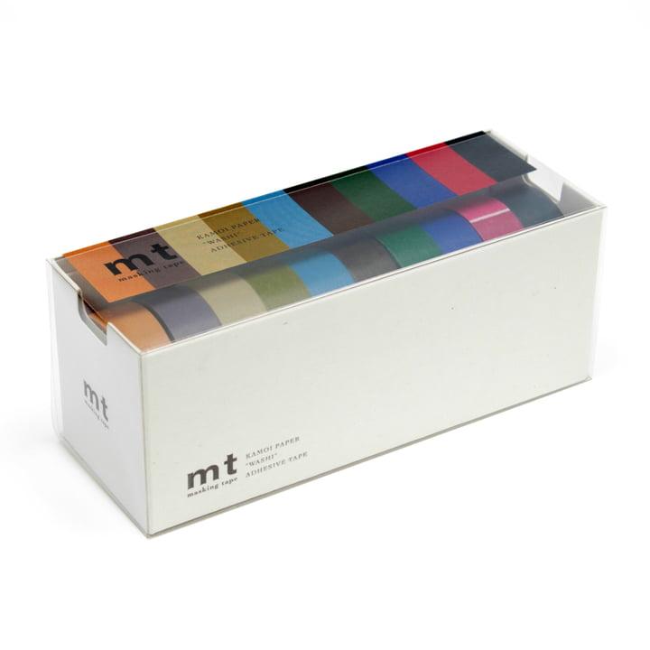 Masking tape - 10P dark colour (10 pcs.)