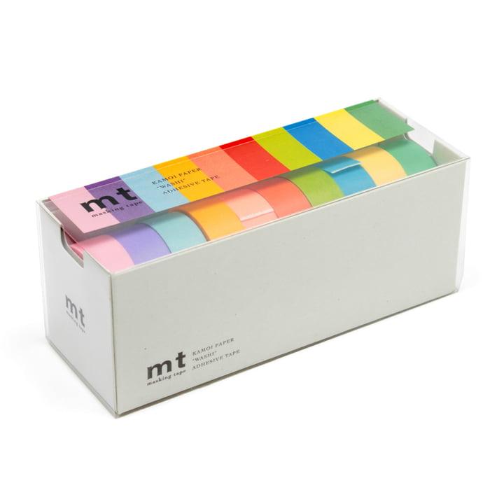 Masking tape - 10P light color 10 pcs. set