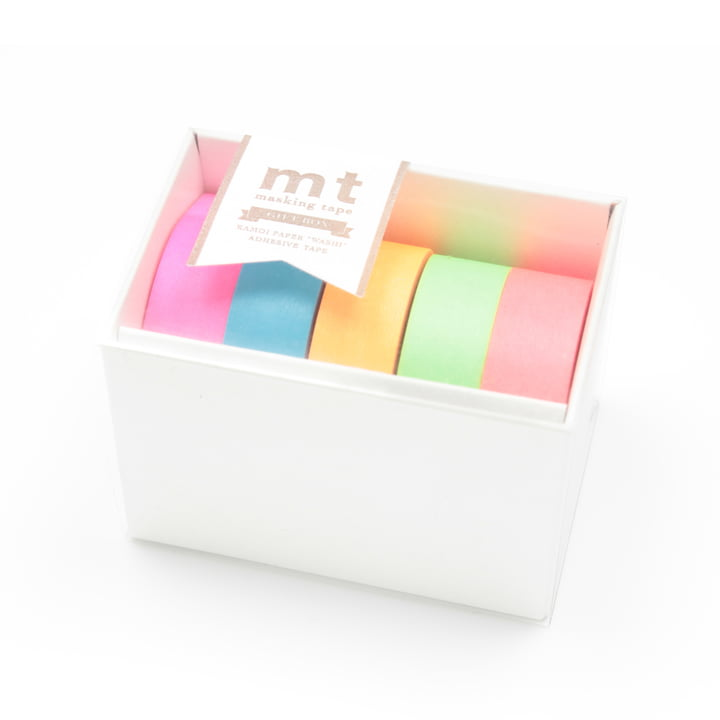 Masking tape - mt Gift Box Neon (Set of 5)