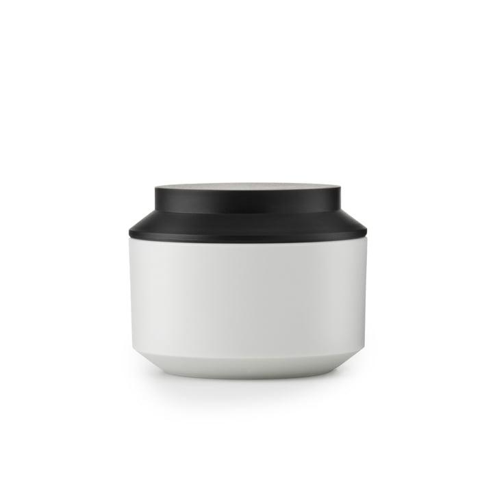 Normann Copenhagen - Geo Jar, frost / black Ø 10 cm