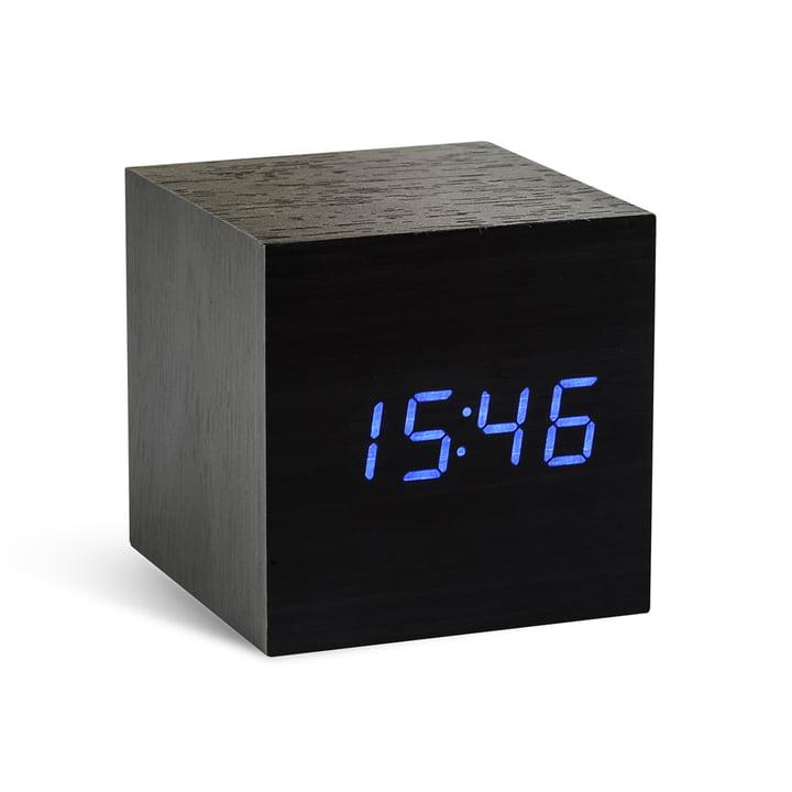 Gingko - Cube, black / LED blue