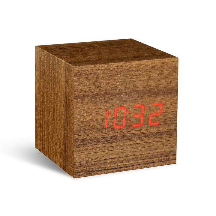 Gingko - Cube, teak / red
