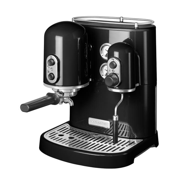 KitchenAid - Artisan espresso machine, onyx black