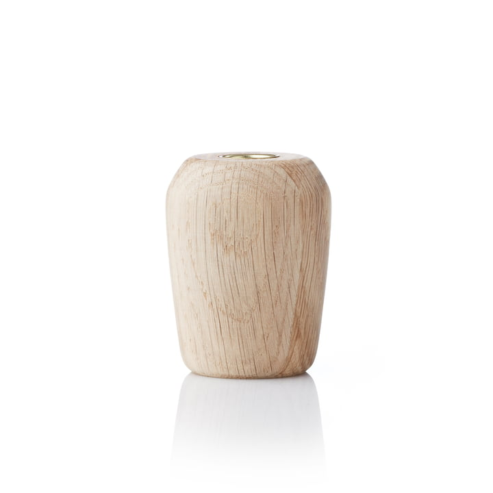 Applicata - Torso Candleholder medium, oak