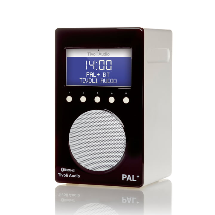 Tivoli Audio - Pal+ BT, glossy black / white