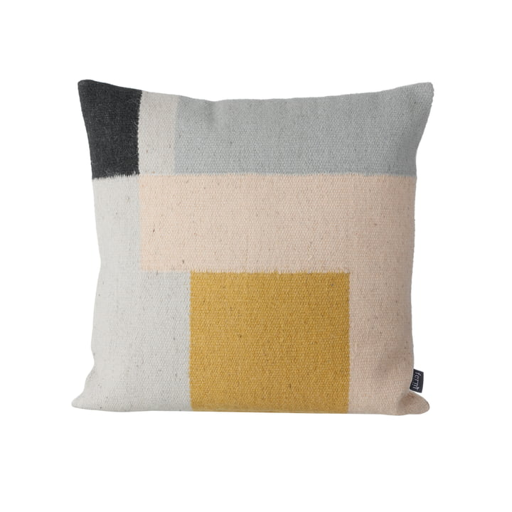 Kelim Cushion by ferm Living with Squares
