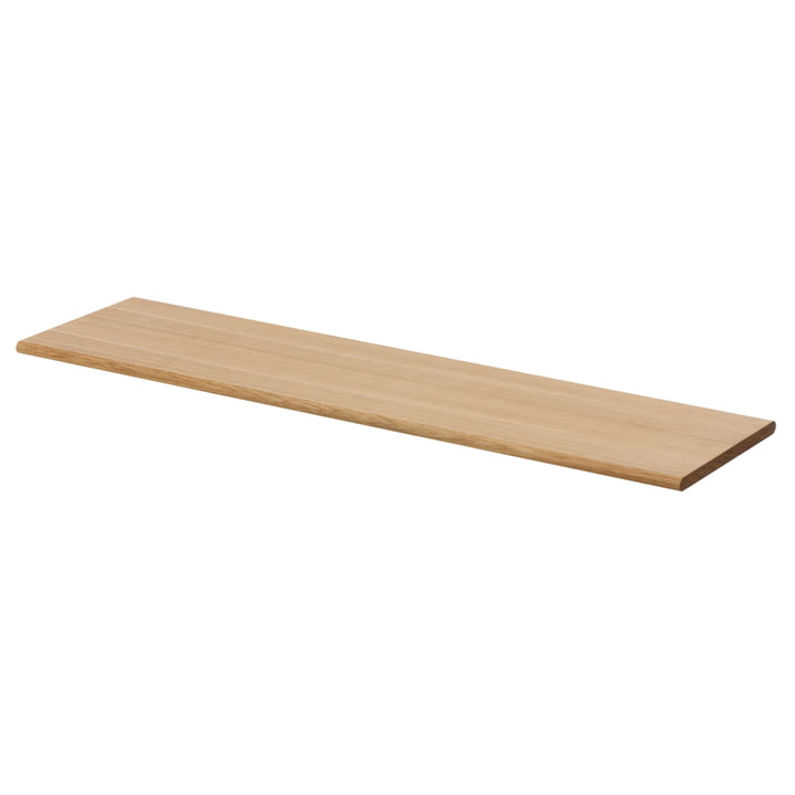 Shelf Hangers board by ferm Living made of oiled oak