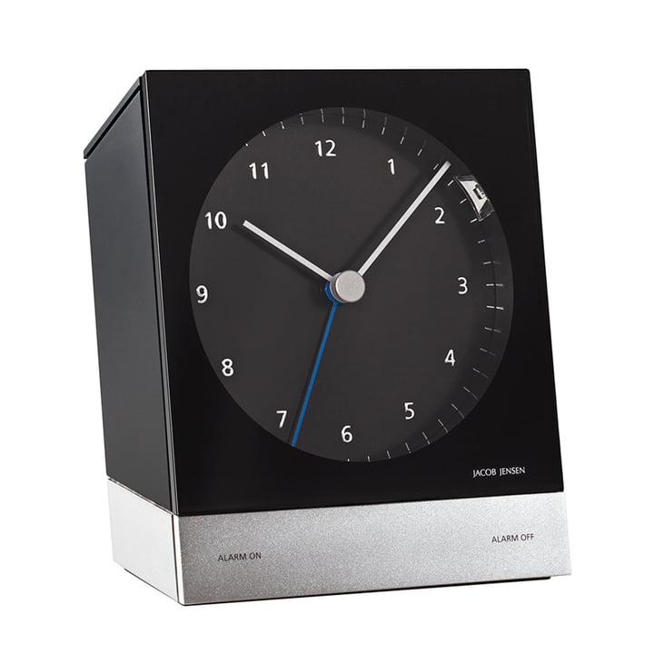 Jacob Jensen - Radio-Controlled Alarm Clock, black