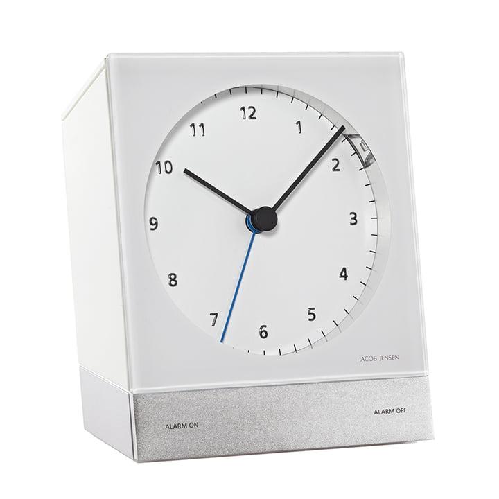 Jacob Jensen - Radio-Controlled Alarm Clock, white