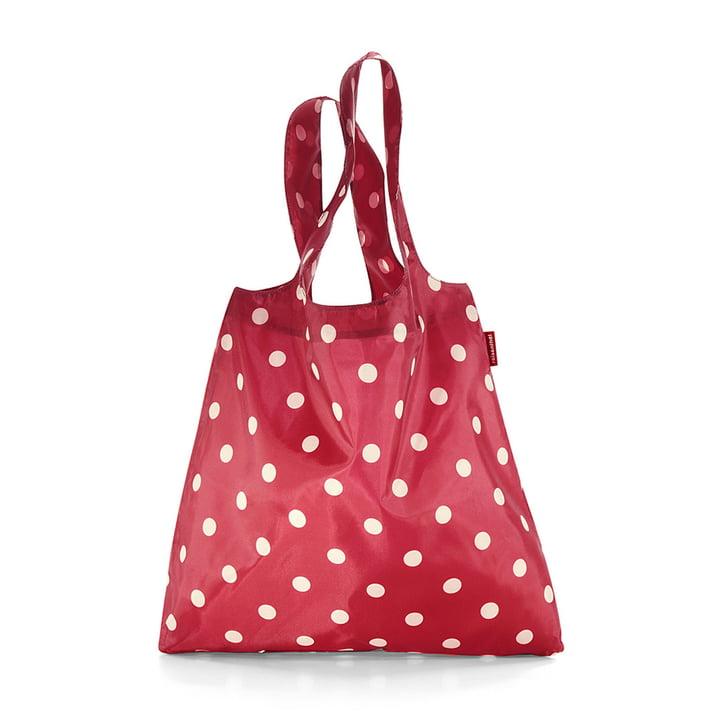 mini maxi shopper by reisenthel in ruby dots
