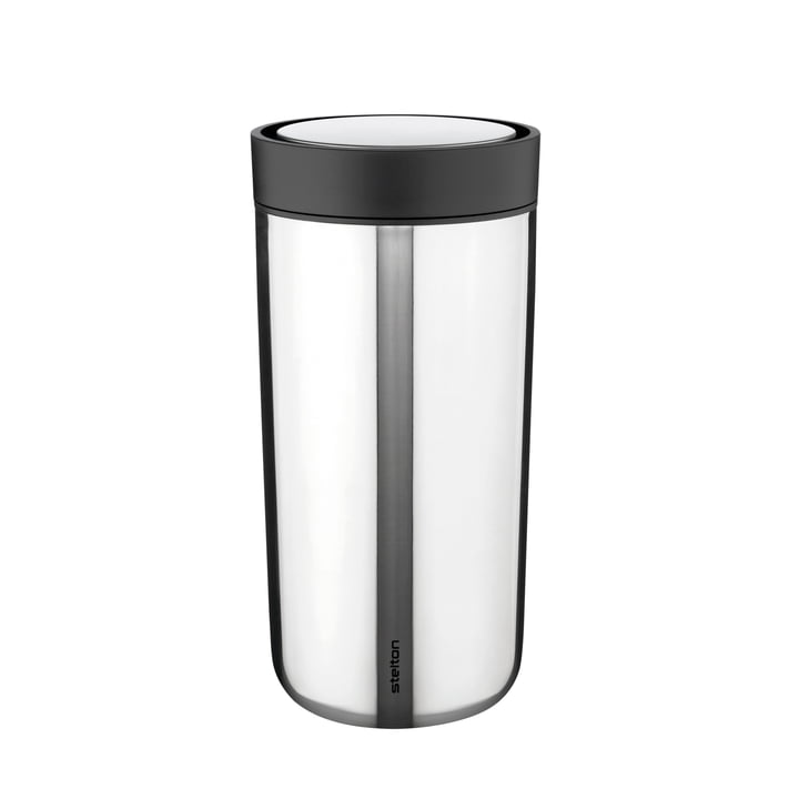 To Go Click from Stelton in stainless steel