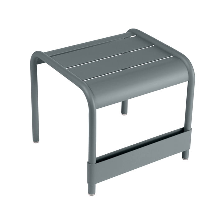 Fermob - Luxembourg Small low table / Footrest, storm grey