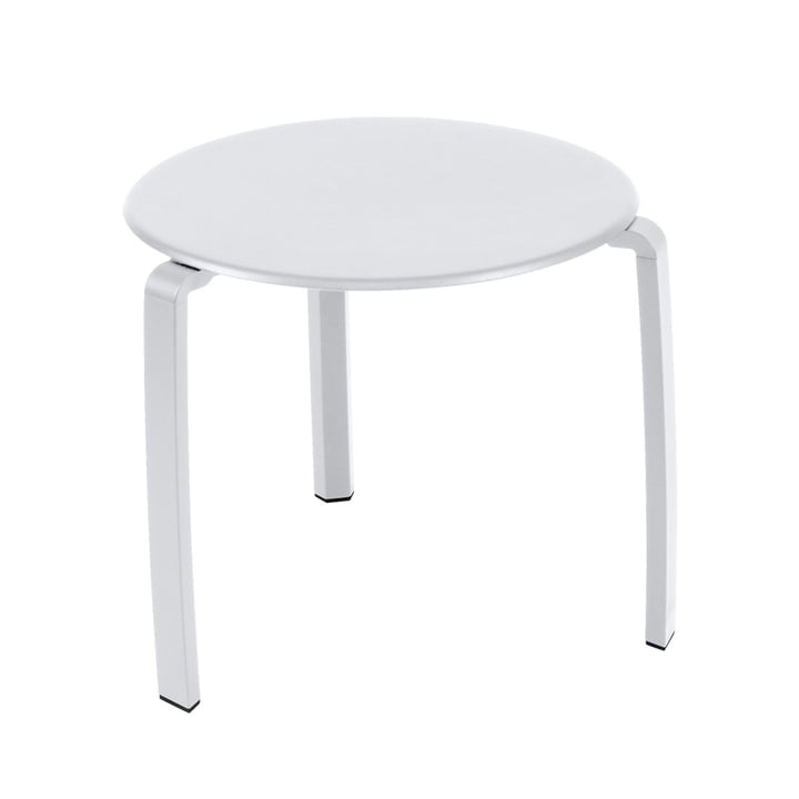 Fermob - Alizé Low table Ø 48 cm, cotton white