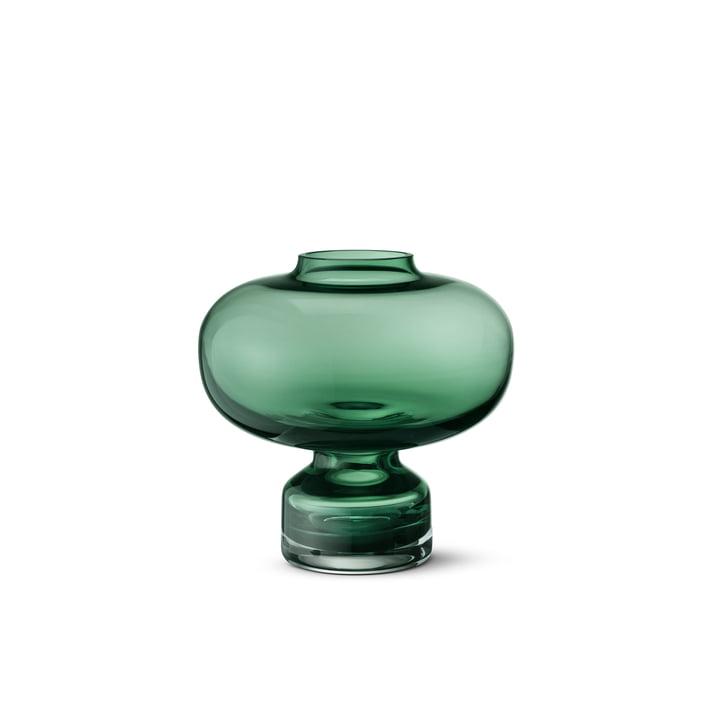 Georg Jensen - Alfredo Vase 200, green