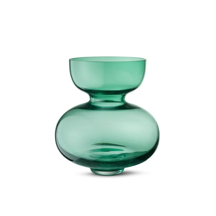 Georg Jensen - Alfredo Vase 250, transparent green