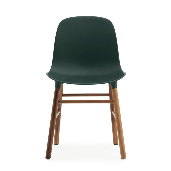 Normann Copenhagen - Form Chair, green / walnut
