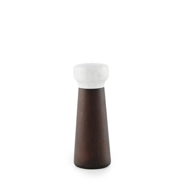 Normann Copenhagen - Craft salt grinder, small / stained oak