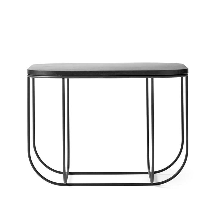 Menu - FUWL Cage Table, black / dark ash