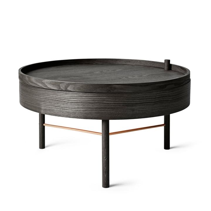 Menu - Turning Table, black ash