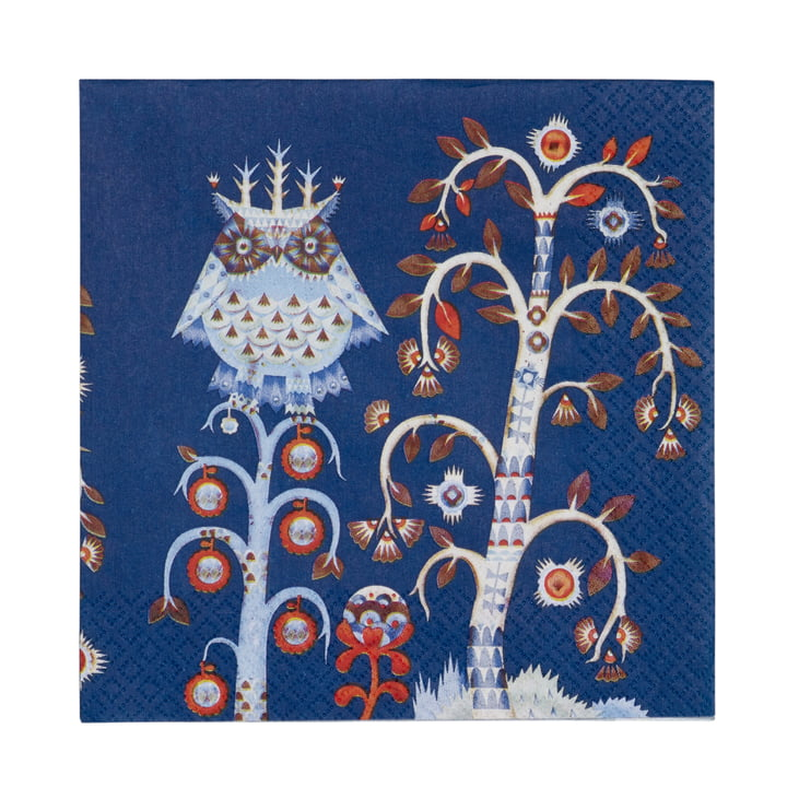 Iittala - Taika Napkin, blue 30 x 30 cm
