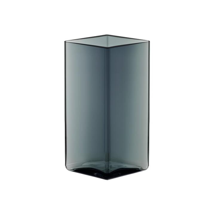 Ruutu Vase 115 x 180 mm from Iittala in grey