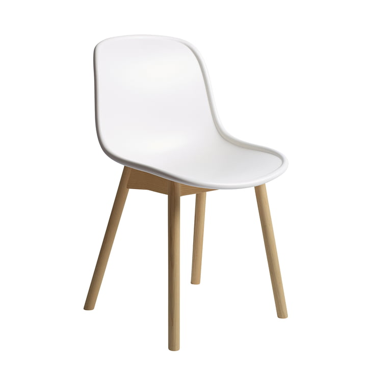 Neu13 chair from Hay in matt lacquered oak / cream white finish