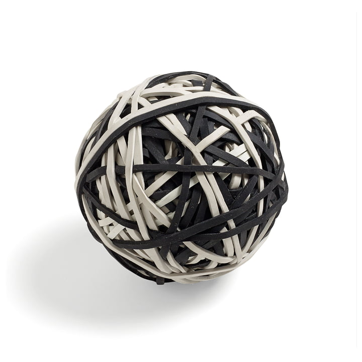 Hay - Elastic Ball, black / white