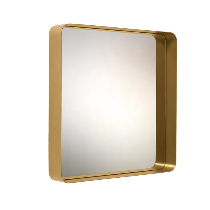 ClassiCon - Cypris mirror 70 x 70, brass / crystal glass