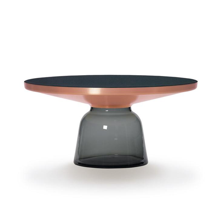 ClassiCon - Bell coffee table copper / quartz grey