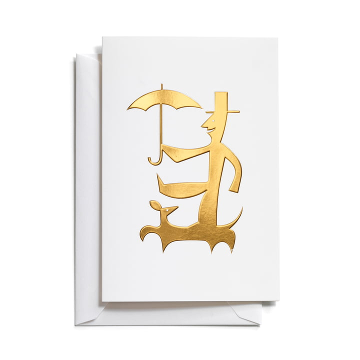 Vitra - Greeting Cards, Man with Umbrella