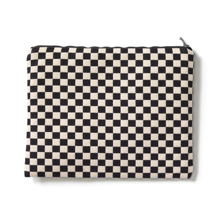 Vitra - Zip Pouch, black / white, large