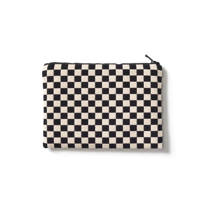 Vitra - Zip Pouch, black / white, medium