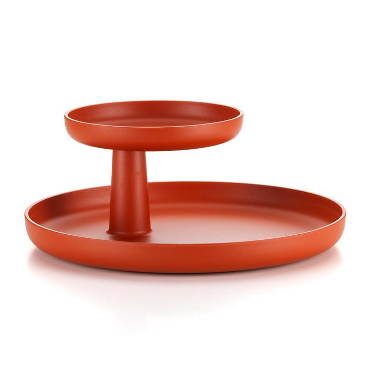 Vitra - Rotary Tray, brick colour