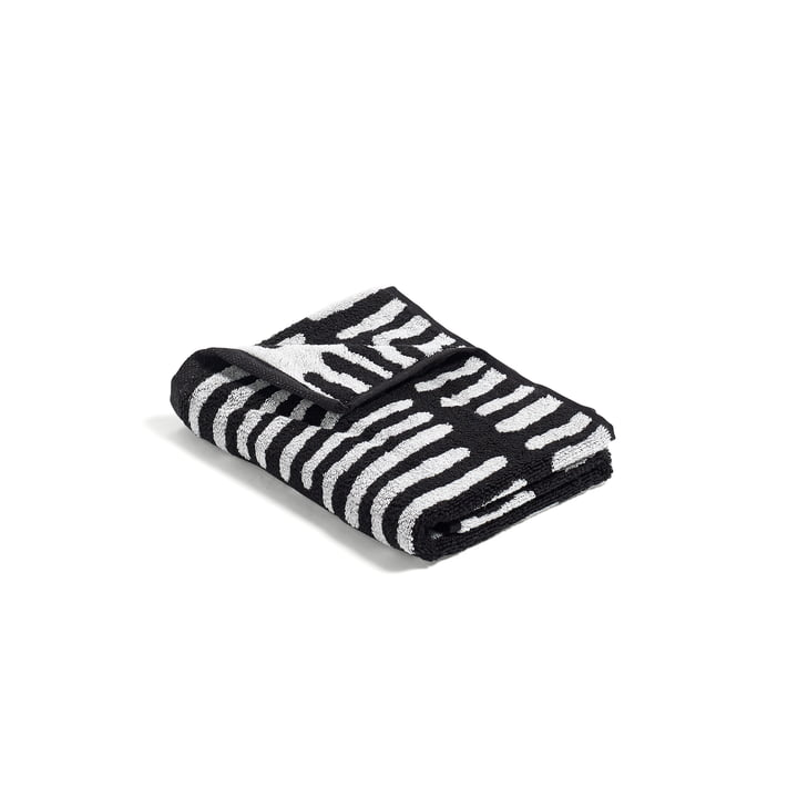Hay - He She It Towels, He Towel (black / cream)