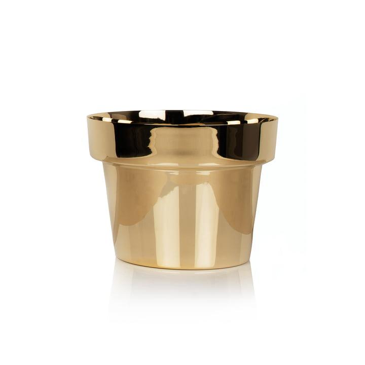 Skultuna - Flower Pot small, brass polished