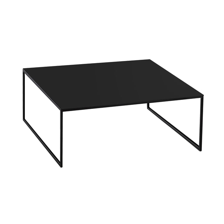 Hans Hansen Less Coffee Table black HPL
