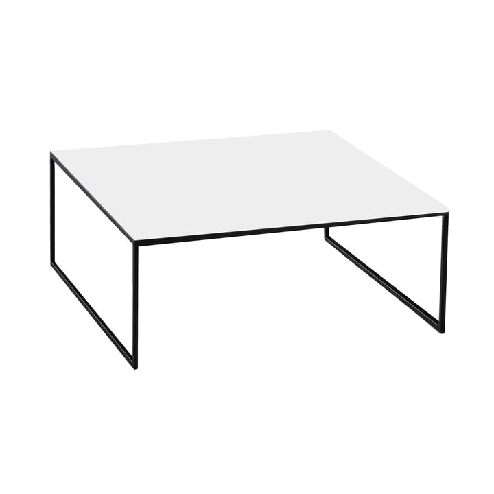 Coffee table Less H 15/2 by Hans Hansen in white