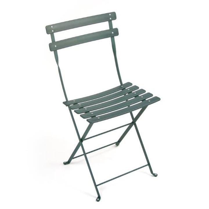 Fermob - Bistro folding chair Duraflon, cedar green
