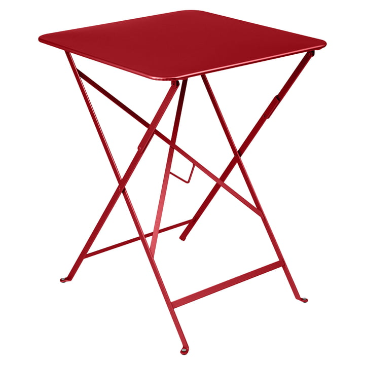Fermob - Bistro folding table, 57 x 57, poppy