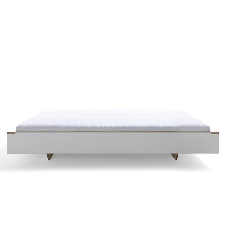 Müller Möbelwerkstätten - Flai bed, white, side